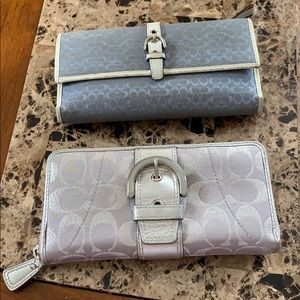 Coach two wallet